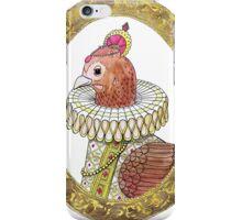 Queen Renaissance Chook iPhone Case/Skin