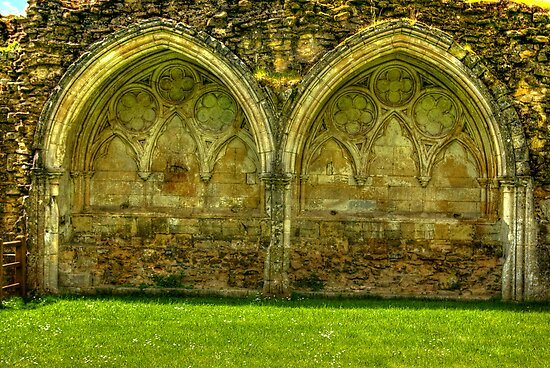 Kirkham Abbey Ruins #1 by Trevor Kersley