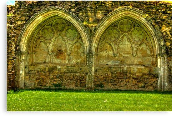 Kirkham Abbey Ruins #1 by Trevor Kersley