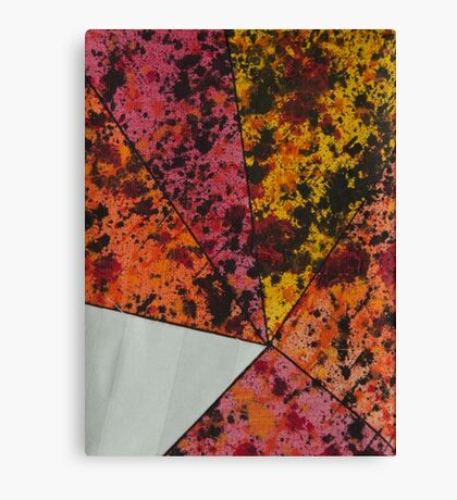 Corner Splatter # 10 Canvas Print