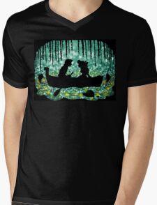 Kiss The Girl Mens V-Neck T-Shirt