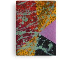 Corner Splatter # 9 Canvas Print