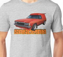 HZ Holden Sandman Panel Van - Red Unisex T-Shirt