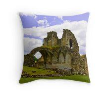 Kirkham Abbey Ruins #3 Throw Pillow