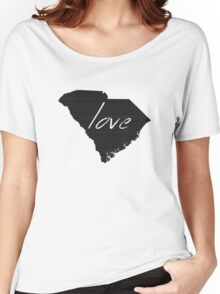 Love South Carolina Women's Relaxed Fit T-Shirt