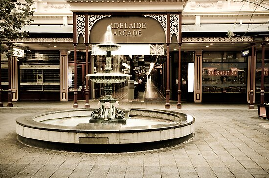 Adelaide Arcade, Rundle Mall, South Australia by tarsia