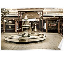 Adelaide Arcade, Rundle Mall, South Australia Poster