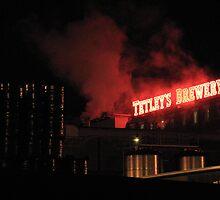Tetley Brewery Leeds by Robert St-John Smith