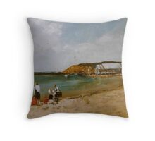 Barwon Heads Throw Pillow