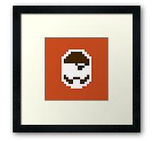 Retro Demoman Framed Print