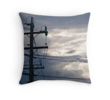 To much power is never enough Throw Pillow