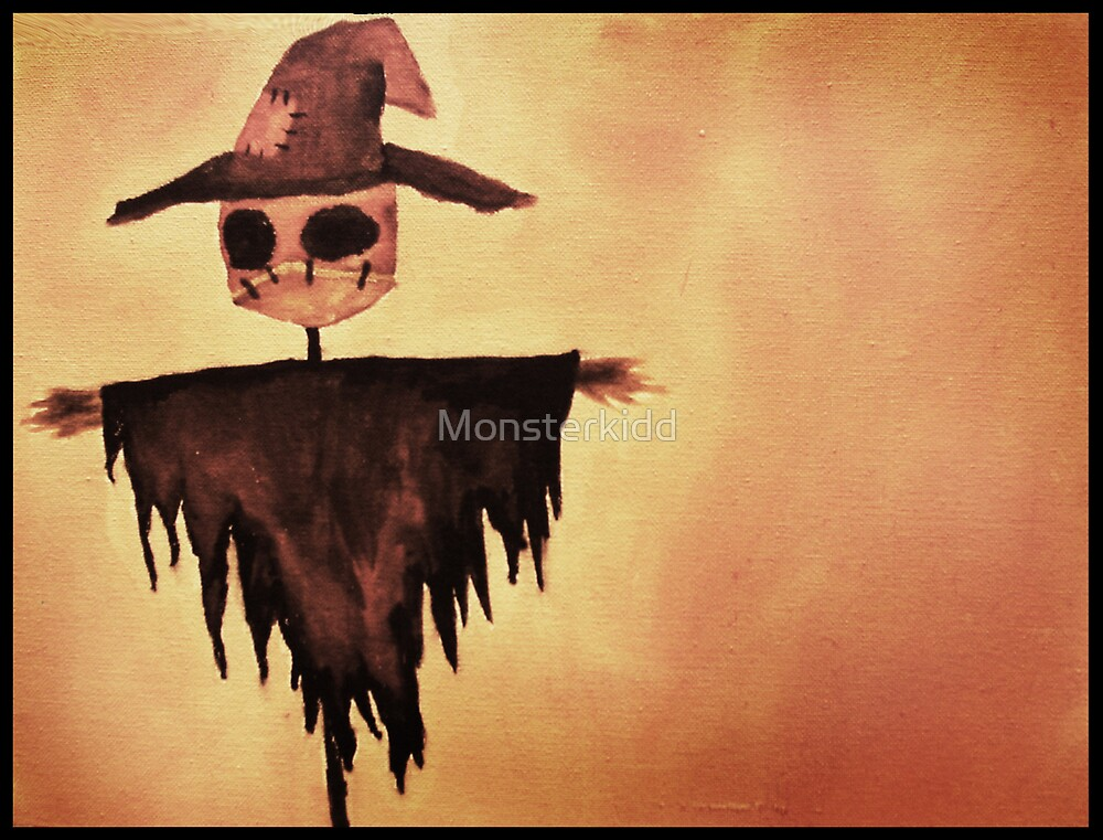 The Lonely Scarecrow by Monsterkidd