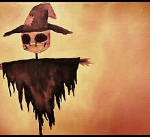 The Lonely Scarecrow by Chloe van Leeuwen