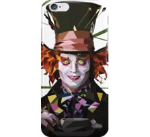 Mad Hatter Low Polly iPhone Case/Skin