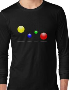 Bouncing balls in the air Long Sleeve T-Shirt