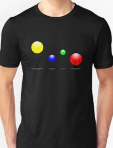 Bouncing balls in the air T-Shirt