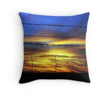 Light through the Darkness Throw Pillow