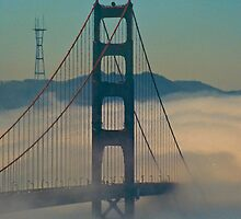 Golden Gate Bridge. by Nancy Stafford