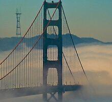 Golden Gate Bridge. by Nancy Stafford