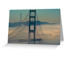 Golden Gate Bridge. Greeting Card