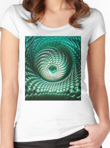 ©DA FS Eye FXV3M. Women's Fitted Scoop T-Shirt