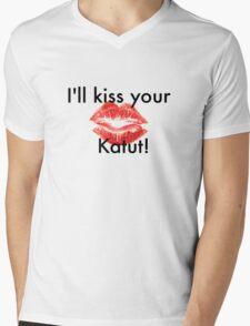 Cheeky Rhonda & Katut Mens V-Neck T-Shirt