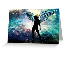 The Universe is my Angel Greeting Card