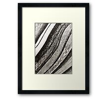 Ink & Charcoal #1 Framed Print