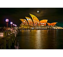 One of many.....A Vivid Opera House Photographic Print