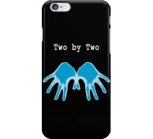 Hands of Blue (in Black) iPhone Case/Skin