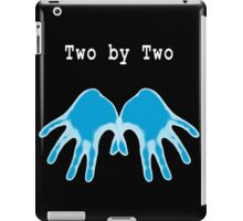 Hands of Blue (in Black) iPad Case/Skin