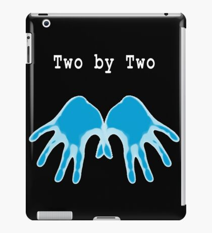 Hands of Blue (in Black) iPad Case/Skin