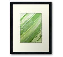 Ink & Charcoal #3 Framed Print