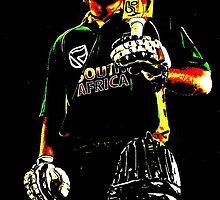 A Cricketer - Ab de Villiers by Jazzy rampras