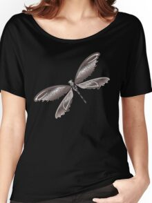 Dragonfly Lace Women's Relaxed Fit T-Shirt