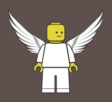 Lego Minifig - Angel by redsushi1