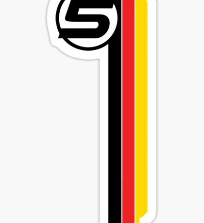 Vettel 5 - Helmet design Sticker
