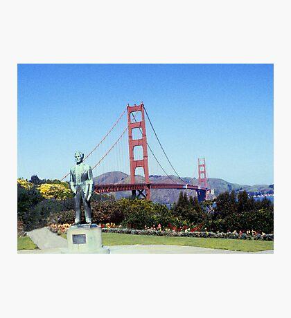 Golden Gate Bridge - San Francisco Photographic Print
