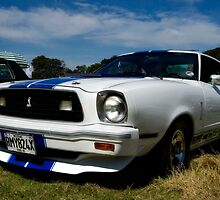 1977 Ford Mustang v8 by dspics