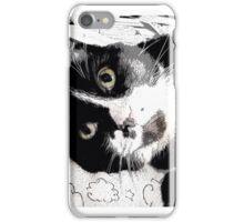Henry, the Tuxedo Cat iPhone Case/Skin
