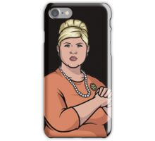 punchy pam iPhone Case/Skin