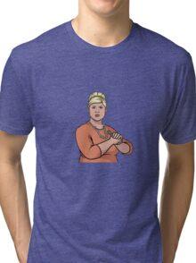 punchy pam Tri-blend T-Shirt