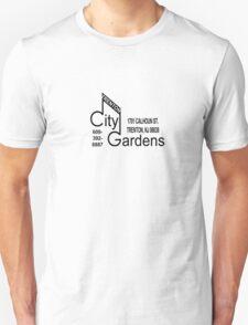 City Gardens - Punk Card Tee Shirt (v 2.0) Unisex T-Shirt