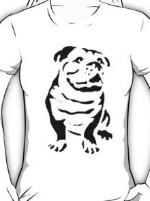 cute puppy on lite T-Shirt