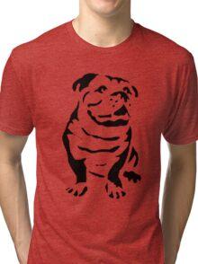 cute puppy on lite Tri-blend T-Shirt