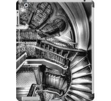 The Grand Staircase (Monochrome) - QVB - The HDR Experience iPad Case/Skin
