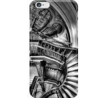 The Grand Staircase (Monochrome) - QVB - The HDR Experience iPhone Case/Skin