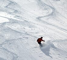 Snowboarder by Chris Parker
