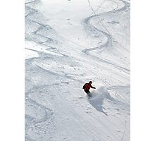Snowboarder Photographic Print