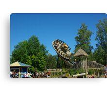 Amusement park #1 Canvas Print